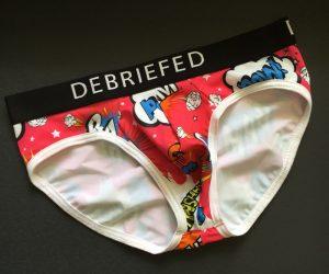 Debriefed underwear review