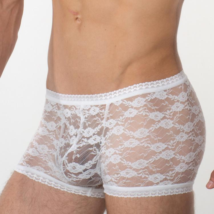 Bum-Chums underwear - Hipster lace White