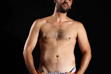 Actor Stephen Kakavoulis by Yannis Pavlidis - Matt James underwear