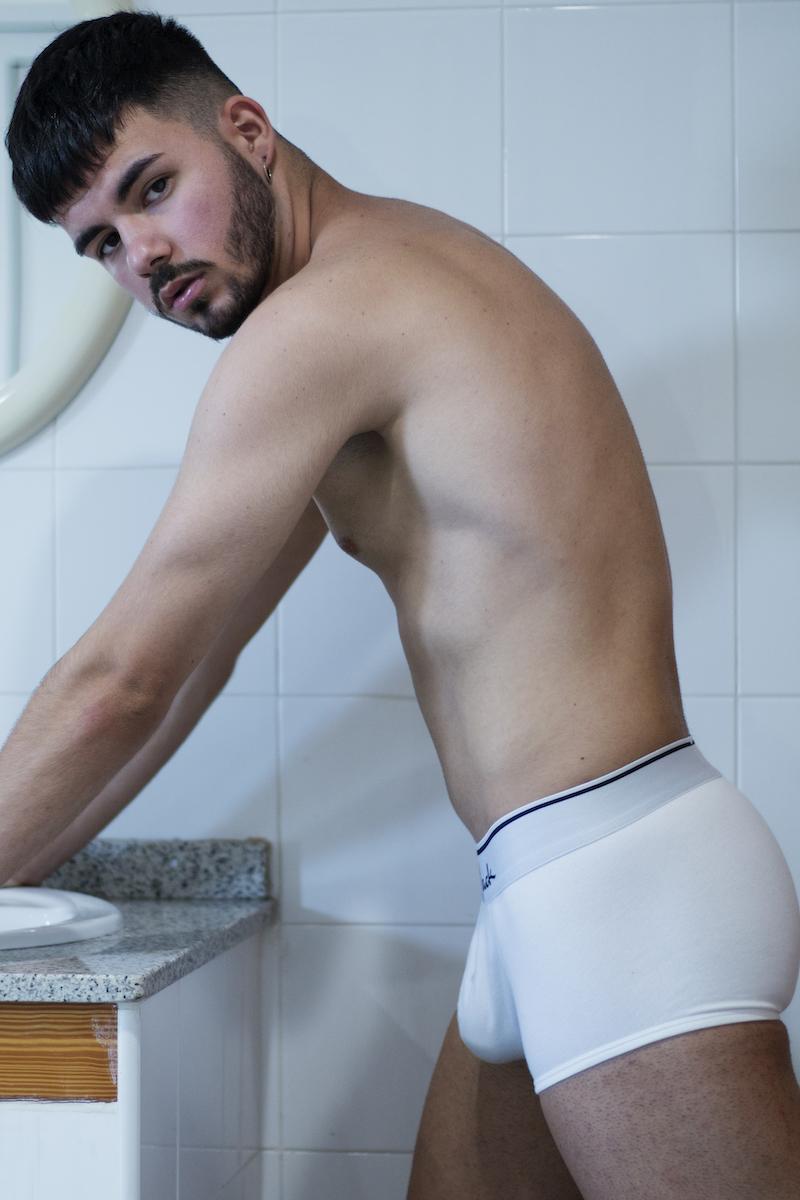Dancer Victor Guillen by MDZmanagement - Walking Jack underwear