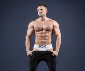 David Lundy from Survival Of The Fittest Alex Wightman - BOX underwear