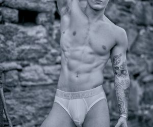 Gavin Johnstone by Studio9NYC - Calvin Klein underwear