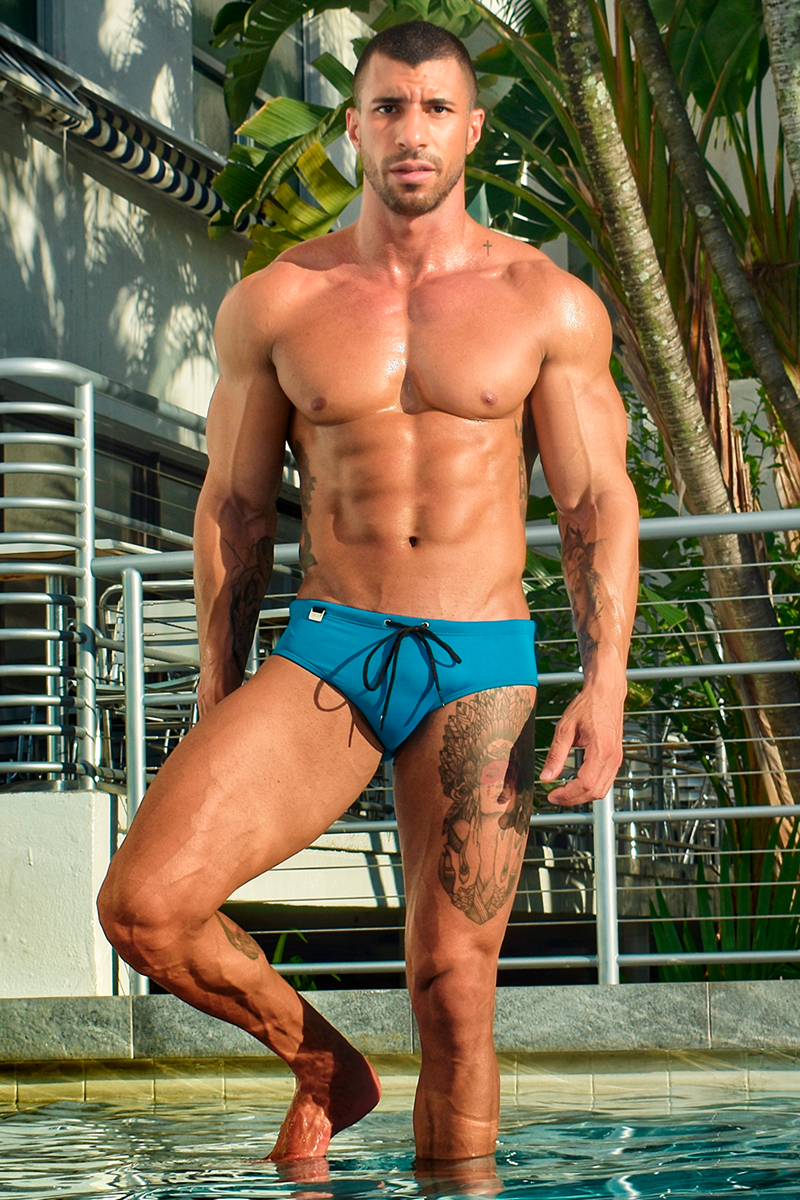 Glaucio Mello by Gus Dantas for Exodia swimwear