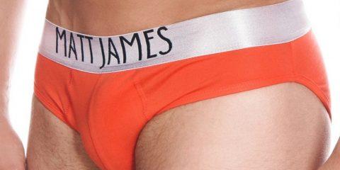 Matt James underwear - red briefs
