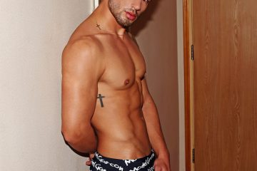 Garccon Model Underwear with model Nicolas by Karim Konrad