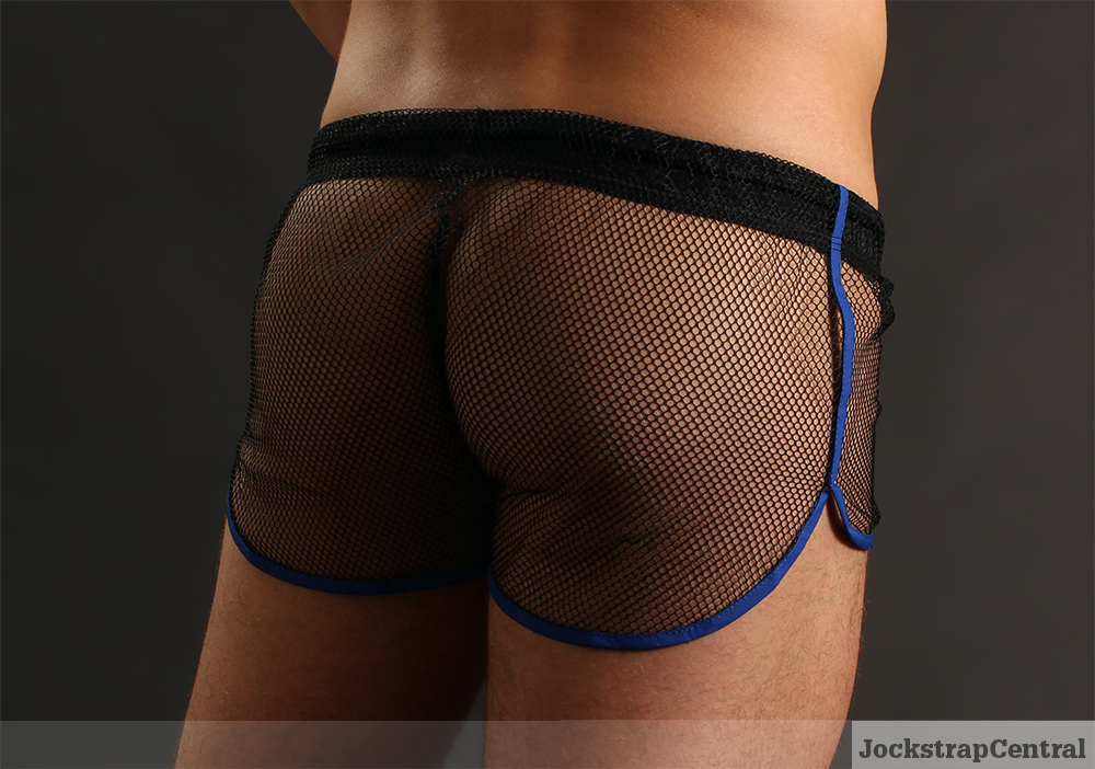 McKillop Net Mesh Impact Shorts at Jockstrap Central