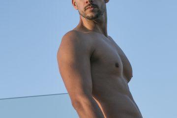 Model Raul photographed by MDZmanagement - Walking Jack trunks