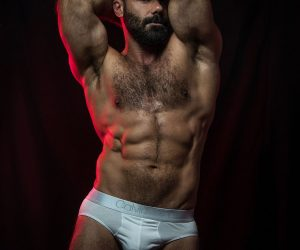 Model Yesu Toro by Inch Photography for eroticco magazine.