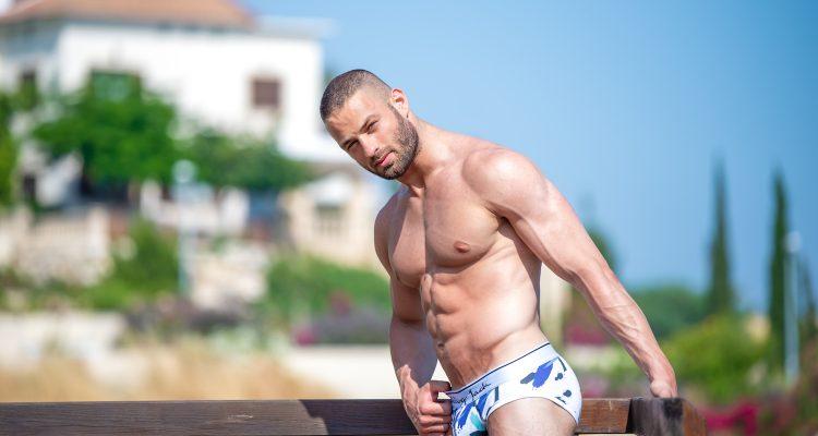 Walking Jack underwear - Andreas Demetriou by Xanthos Georgiou