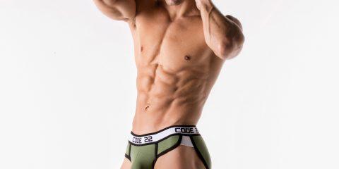 CODE 22 underwear - Sport Racer Briefs
