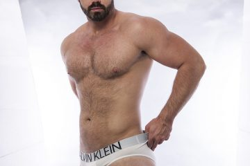 Calvin Klein underwear model Darko Knauf by Inch Photography