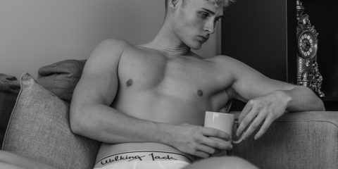 Walking Jack underwear - model Edward Griffith by Markus Brehm