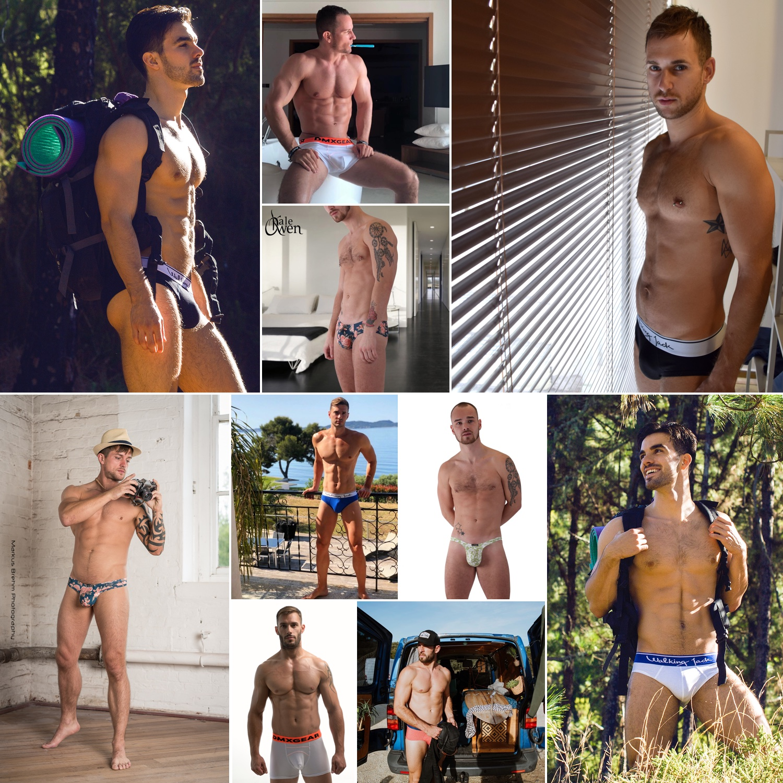Men and Underwear - top10 Instagram posts