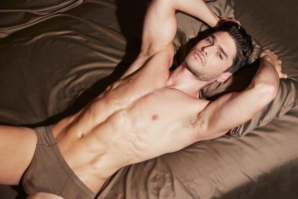 BANG&STRIKE UNDERWEAR - model Charlie Matthews Micro Modal trunks
