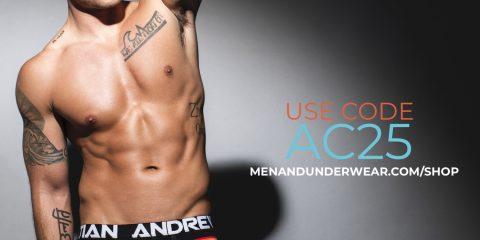 Andrew Christian underwear sale