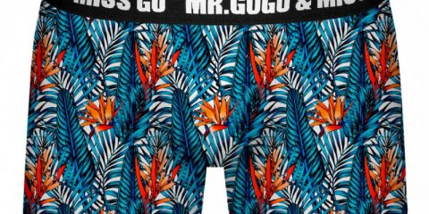 Mr. Gugu & Miss Go underwear Tropical Paradise Boxer Brief