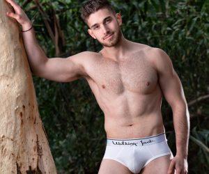 Walking Jack underwear Solid Briefs white