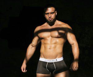 JJMalibu underwear and swimwear Model Chris by MDZmanagement