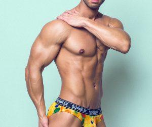 Supawear underwear - model Daniel by Adrian C Martin