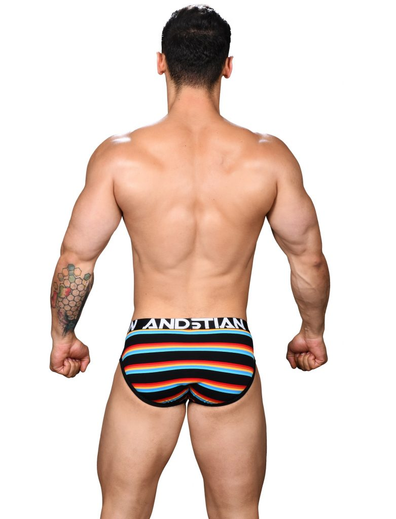 Underwear Suggestion: Andrew Christian - California Stripe