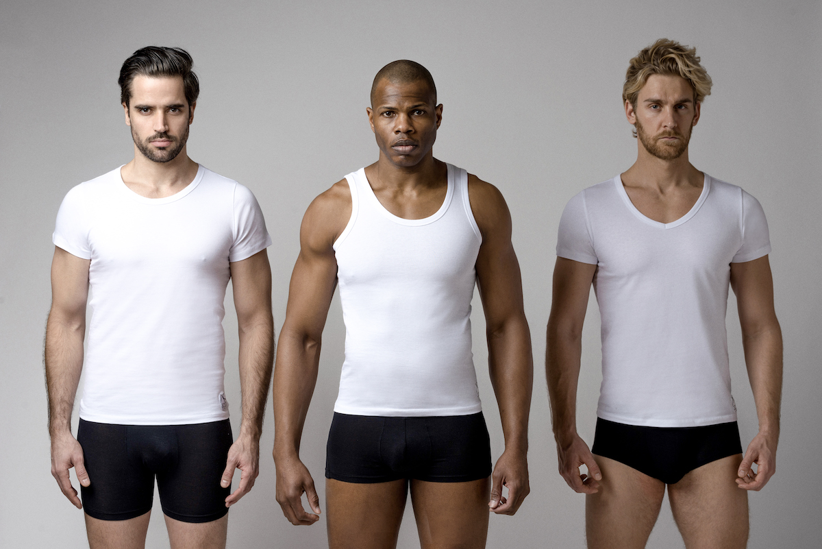 Adam Smith presents premium undershirts collection
