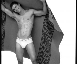 Calvin Klein underwear - Model Scott Morton by Baldovino Barani - FACTORY Fanzine