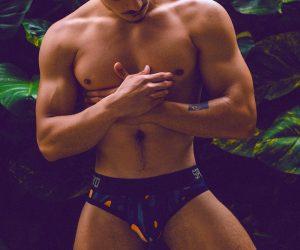 Supawear underwear - Model Carlos by Adrian C Martin
