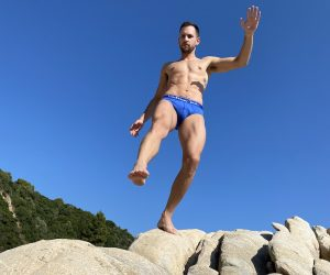 Walking Jack underwear - Bluebird Solid Briefs - Stathis - Summer Vibes