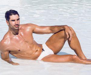 Teamm8 swimwear models Carlos and Alberto