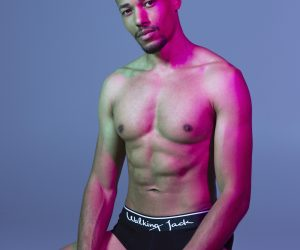 Walking Jack underwear - model Addou by Esa Kapila
