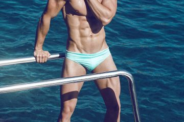 Swimwear editorial - model Manuel by Adrian C Martin