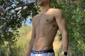 Walking Jack Fern Briefs - model Stathis for Men and Underwear