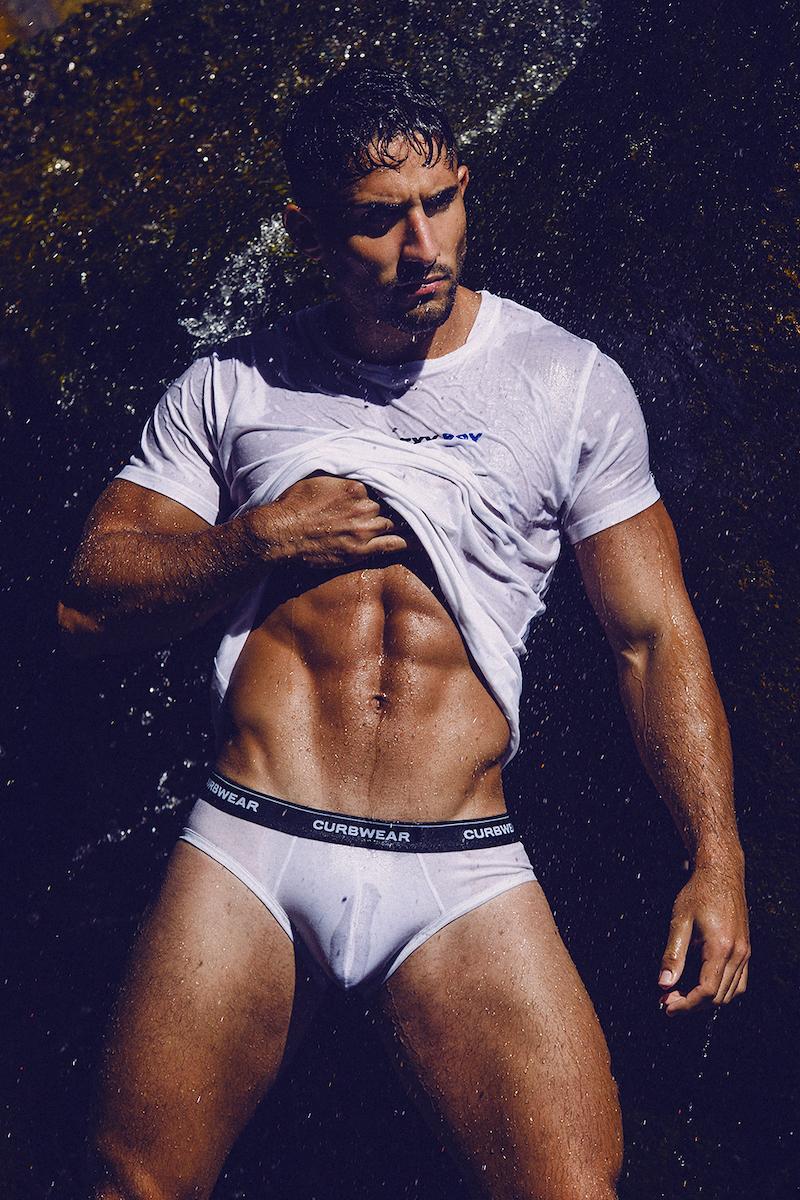 Curbwear underwear - Model Gonzalo by Adrian C Martin