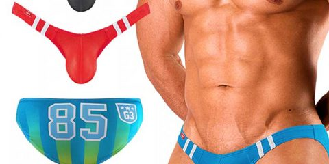GX3 underwear - Numbering Ultra V Bikini 3 Pack 03