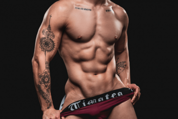 Timoteo underwear Alison Nonato by Paul Jamnicky