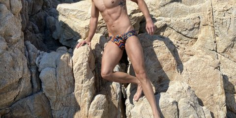 2EROS swimwear - model Stathis for Men and Underwear