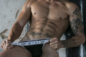 AMU underwear - model Zeus by MDZ management