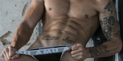 AMU underwear - model Zeus by MDZ management