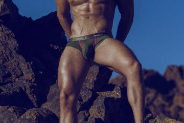 Model Kevin De La Cruz by Adrian C. Martin - underwear from various brands 01