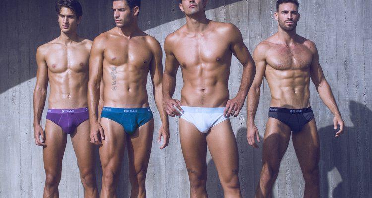 Teamm8 underwear - Super Low Stripe briefs
