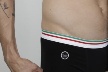 Ultimo Bacio - Italian underwear Boxerino trunks black