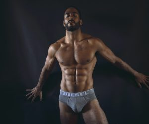 Diesel Underwear -Model Idan Guetta by Hair, Light and Shadow
