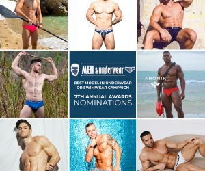 7th-Men-and-Underwear-awards best model in underwear : Swimwear campaign