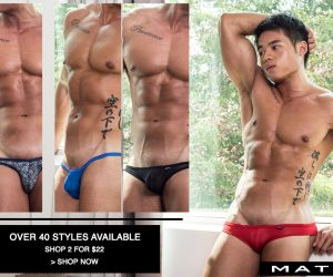 Mategear - 2 Pack Assorted Signature Underwear