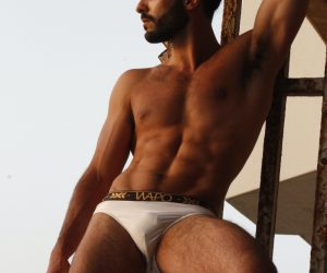 Wapo Wear underwear - Model Idan Guetta by Omer Revivi