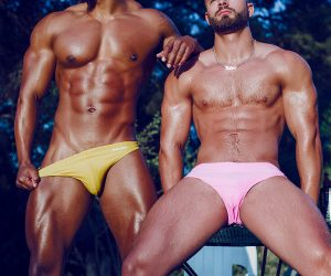 Bang swimwear - Jermaine and Kevin by Adrian C Martin
