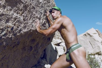 Zeus briefs and thongs by teamm8 - model Enrique Ruiz by Adrian C. Martin