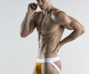 CODE 22 underwear - Bright Jockstrap yellow