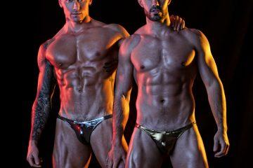 TOF Paris - Metallic Bikini silver and gold